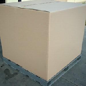 Plastic Pallet & Export Cardboard Box Combo - Plastic Pallets