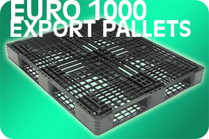 Euro 1000 Export Plastic Pallet