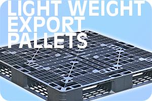 light weight export plastic pallets