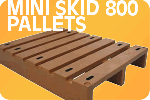 Mini Skid Plastic Pallets