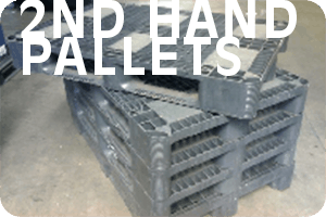 Second Hand Plastic Pallets Storage Systems and Used Pallets