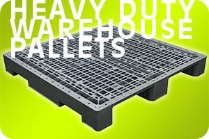 heavy duty warehouse plastic pallets